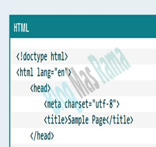 membuat tag html cara membuat tag pre bertema vanilla blog mas rama