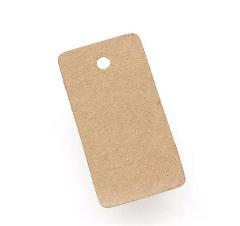printable kraft paper hang tags 100x brown kraft paper tags rectangular label luggage