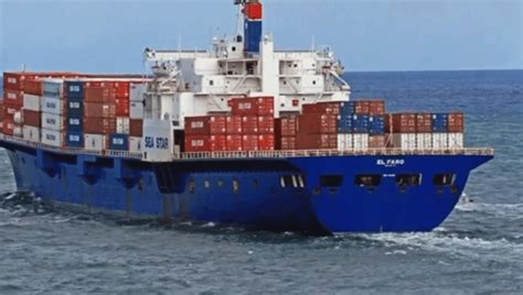 News Roundup Wrecked Cargo Ship And Behaving Badly by Us Coast Guard Didn T Think El Faro Cargo Ship Was At Risk