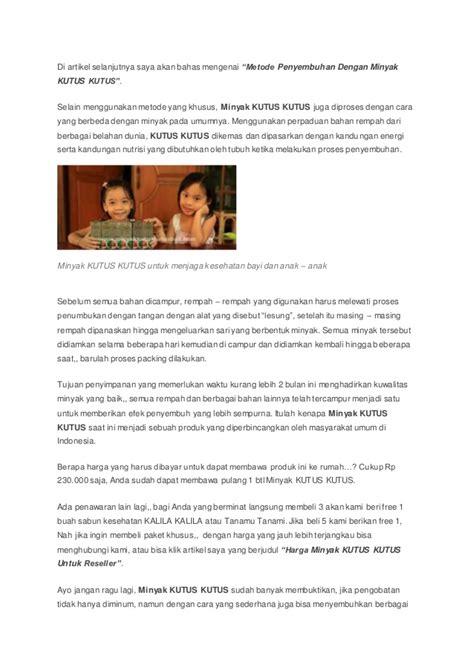 Minyak Kutus Kutus Bali minyak kutus kutus asli bali berkhasiat