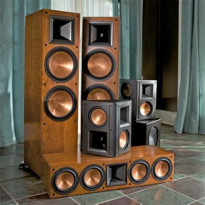 rf 7 ii home theater system from klipsch home theater