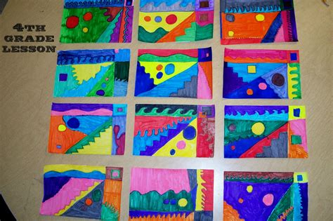 pattern art lesson grade 1 worthwhile revel 4th grade art lesson