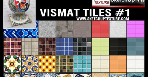 download pattern sketchup sketchup texture v ray for su vismat tiles collection 1