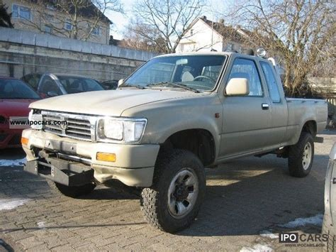 1996 Toyota 4x4 1996 Toyota Hilux 4x4 Xtra Cab Car Photo And Specs