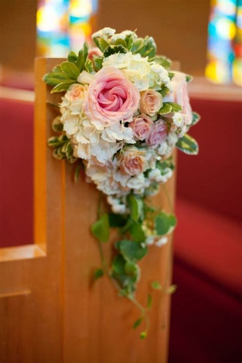 25 best ideas about church pew wedding on church wedding decorations wedding pew