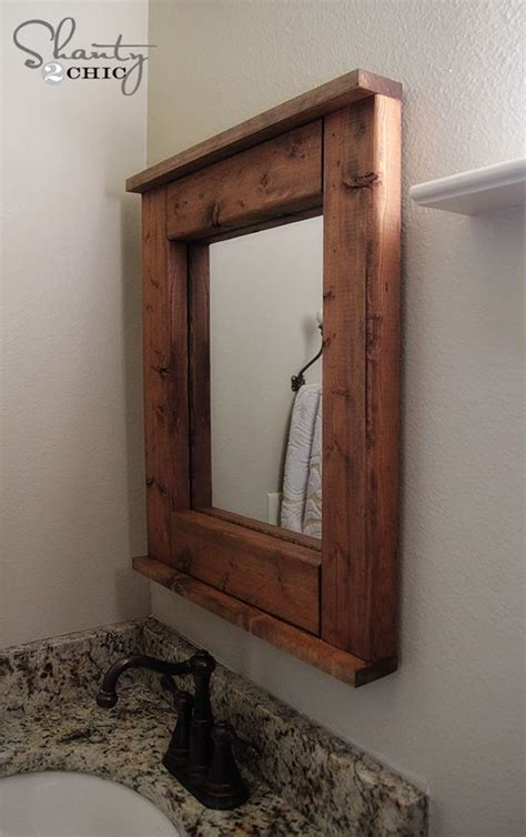 wood mirror bathroom best 25 wood mirror ideas on pinterest mirrors full