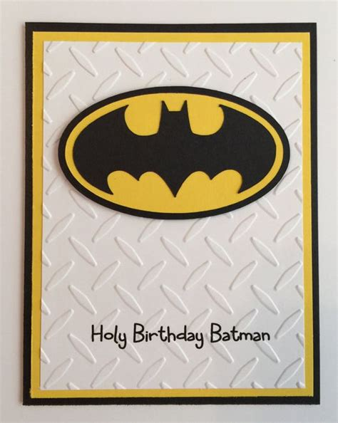 Batman Birthday Card Batman Birthday Birthday Cards And Batman On Pinterest