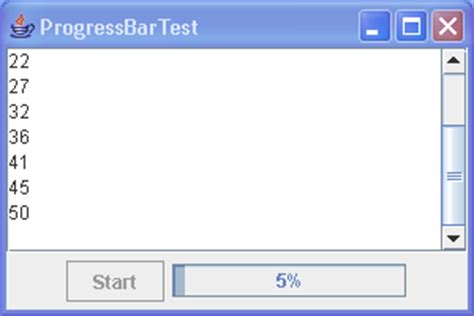 java swing progress bar creating a modal progress dialog progressbar 171 swing jfc