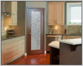 Kitchen Door Design Frosted Glass Kitchen Cabinets Home Design Ideas