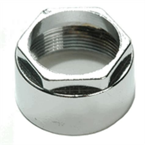 retaining nut for faucets