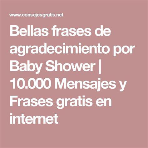 ideas de frases para un las 25 mejores ideas sobre mensajes de baby shower en