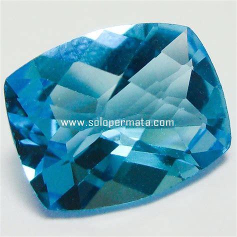 Batu Akik Permata Blue Topas batu permata blue topaz 25a02 toko batu akik