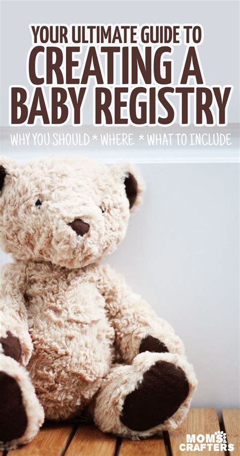 What Does It To Register For A Baby Shower by What To Put On Your Baby Registry And Crafters