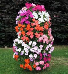 Planters Flowers Design by Flower Tower Flower Power Great Vertical Planter