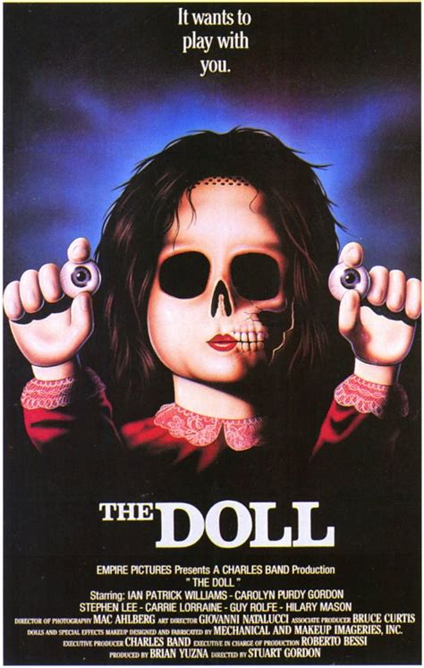 black doll imdb the doll posters from poster shop