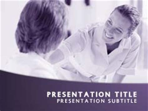 Royalty Free Nursing Powerpoint Template In Purple Nursing Powerpoint Templates