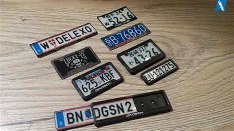Auto L Nderkennzeichen by Ziemlich Ford Racing Kfz Kennzeichenrahmen Bilder