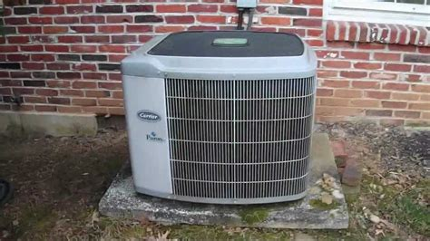 carrier puron capacitor 2003 carrier weathermaker 4 ton central air conditioner