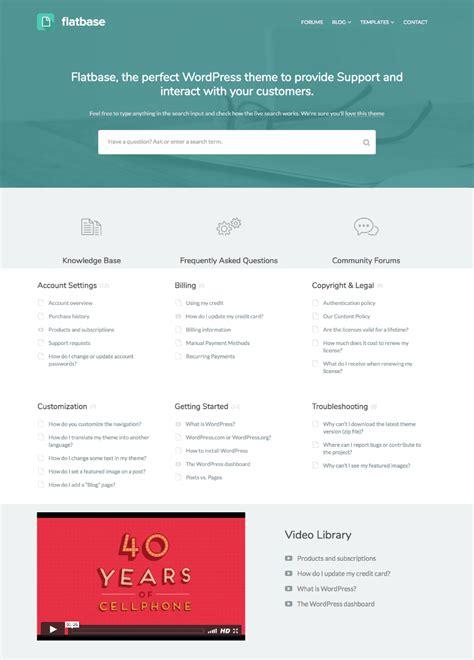 free wordpress themes knowledge base 15 best knowledge base wordpress wiki style themes