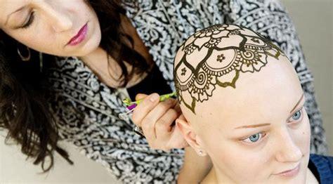 tato rambut bintang tato henna cantik buat wanita tetap percaya diri tanpa