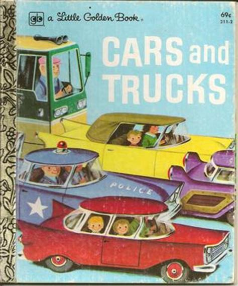 books about cars and how they work 2003 toyota highlander interior lighting cars and trucks a little golden book by richard scarry