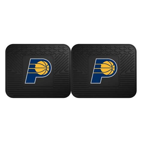 Indiana Mats by Fanmats Nba Indiana Pacers Black Heavy Duty 2 14 In