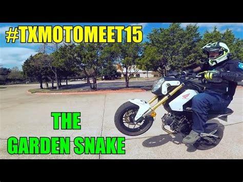 Jake The Garden Snake Yamaha Txmotomeet15 The Garden Snake