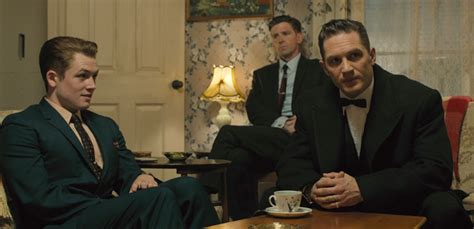 film gangster legend watch tom hardy does double duty in trailer for gangster