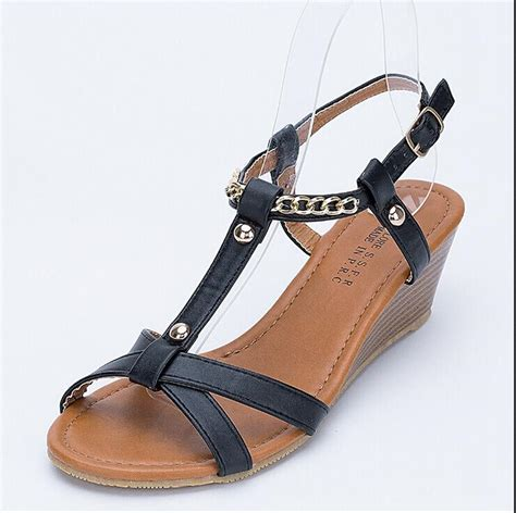 8 Must Gladiator Sandals For Summer by New 2017 S Summer Wedges Sandals Flat Platform