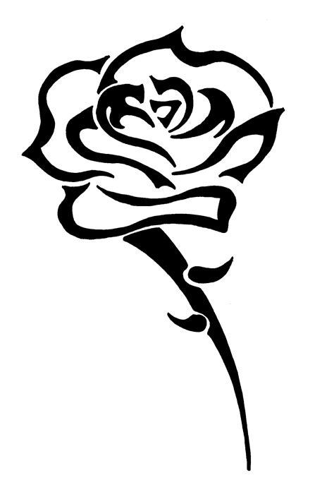 imagenes de rosas trival rose tribal