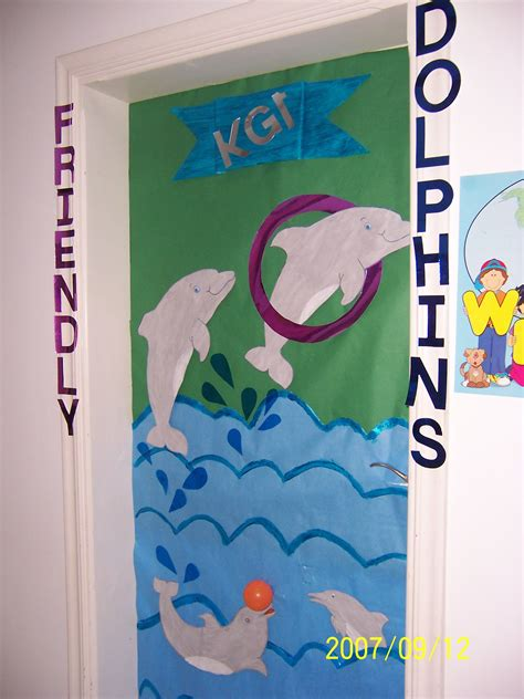 dolphins class dolphin decor door decorations