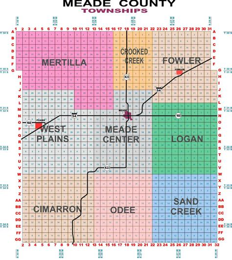 township range section format meade county kansas gt elected officials gt commissioners