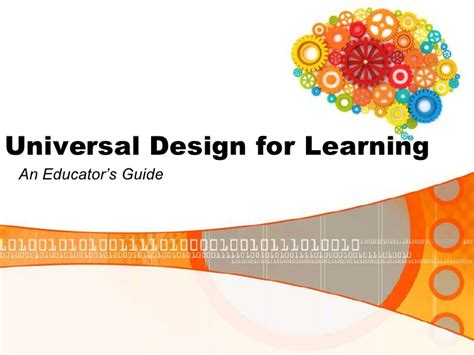universal design for learning powerpoint universal design for learning ed554