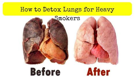 How To Naturally Detox Your Of Nicotine by How To Detox Lungs For Heavy Smokers Purify Your Lungs