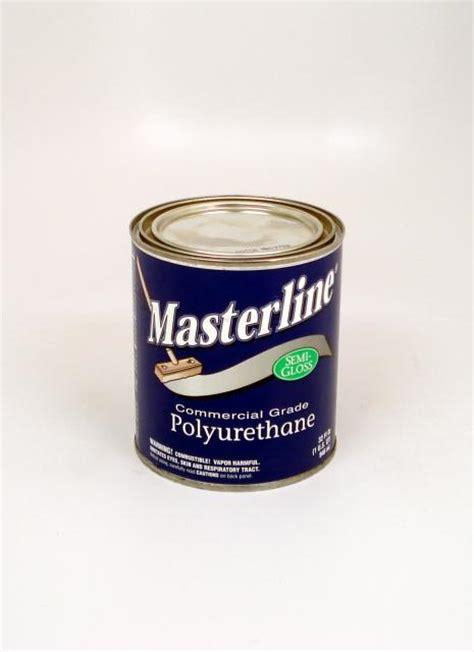 masterline oil based polyurethane wood floor finish semi