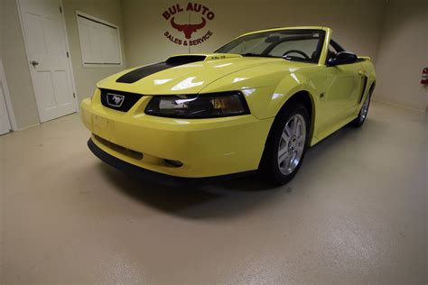 2001 mustang gt top speed 2001 ford mustang gt premium convertible stock 16280 for