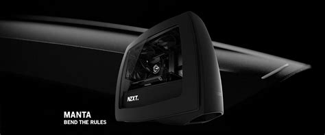 Nzxt Hue Black White By Aconx manta mini itx pc nzxt