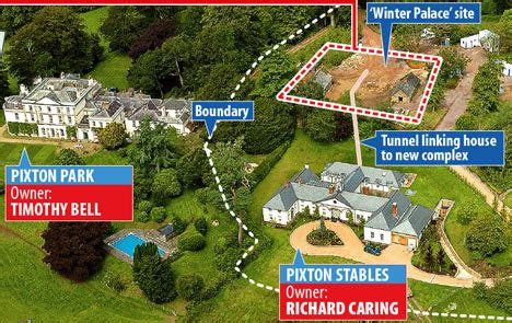 Building Plans Online Neighbours Revolt Over Tycoon S Plans For Winter Palace On