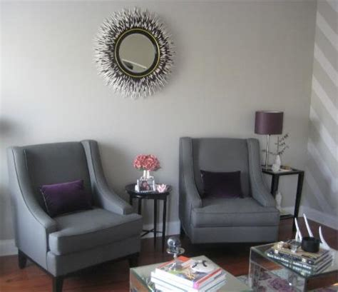 Gray Living Room Chairs Black And Purple Living Room Contemporary Living Room