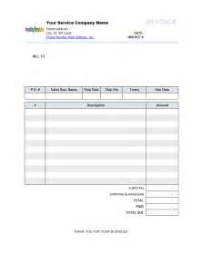 professional services invoice template best photos of professional services invoice template