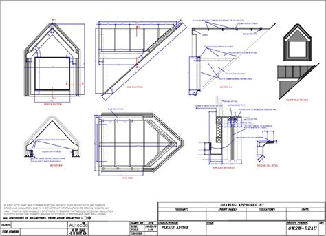 Section Through Dormer Window Banbury Innovations Fibreglass Grp Dormers