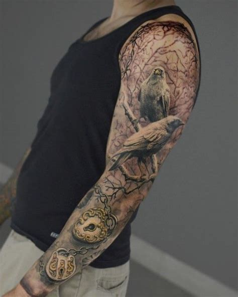 black and grey tattoo artist nyc completed sleeve by artist darwinenriquez darwin