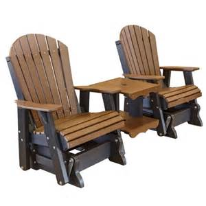 cottage co heritage 3pc plastic glider chairs