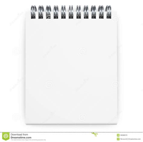 notepad html design view blank notepad royalty free stock images image 36088979