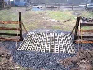 Concrete Block Home Plans farm show quick amp easy cattle gaurd