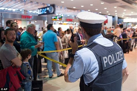 Al Breaches Airport Security by Suspect Arrested At Cologne Bonn Airport After Security