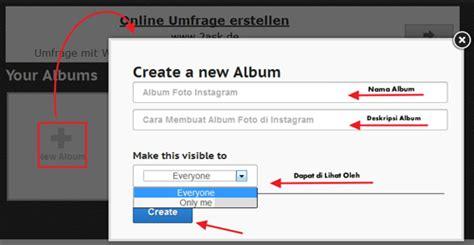membuat instagram di web cara mudah membuat foto album di instagram dengan