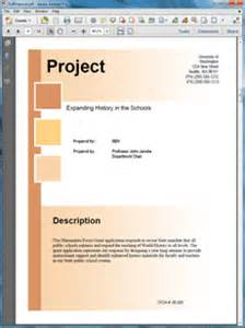 sample business proposal software doe federal government