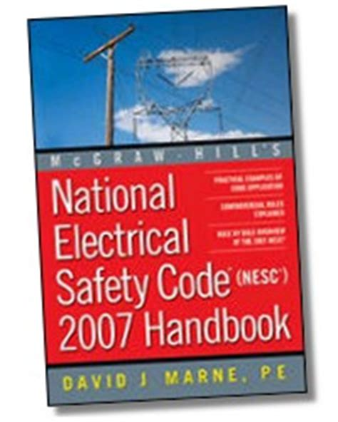 National Plumbing Code Handbook Pdf by National Electrical Safety Code Nesc 2012 Handbook