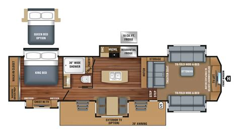 jayco 5th wheel rv floor plans 100 jayco 5th wheel rv floor plans 2011 jayco eagle